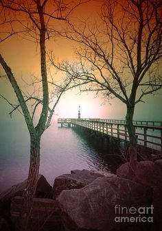 Walking Pier - Okanagan Lake, Penticton BC Canada - Tara Turner