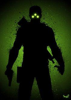 Shadow of a Splinter Cell- Created bySno2 Art