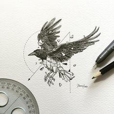 Geometric Beasts | Crow
