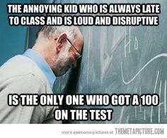 Professor Problems…