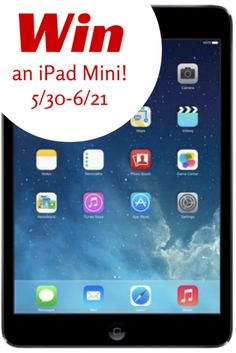 HOT! IPAD MINI Giveaway http://madamedeals.com/?p=491676 #contest #giveaway #inspireothers
