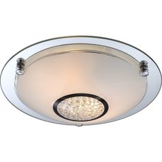 House Additions Edera 2 Light Flush Ceiling Light & Reviews | Wayfair UK