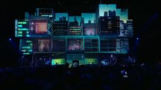 Visuals for Bilan33 live show. Video content was made as a 3d mapping projected to cubes (2,5m each and 4 levels total) and LED screens inside the stage behind…