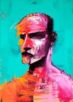 Adam Neate. #adam_neate http://www.widewalls.ch/artist/adam-neate/