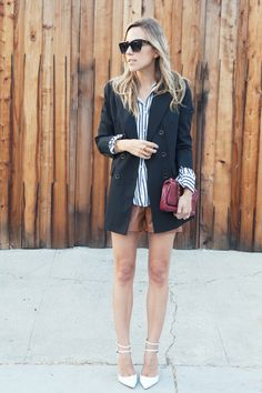Jacey of Damsel In Dior wearing the Antibes Blazer from my #RachelZoe Collection