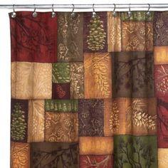 Buy Avanti Adirondack Pine 70-Inch x 72-Inch Fabric Shower Curtain from Bed Bath & Beyond