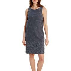 BuyWhite Stuff Antoinette Dress, Navy, 14 Online at johnlewis.com