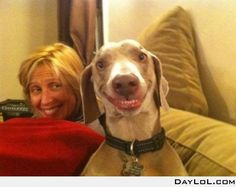 Damn, that's a funny face