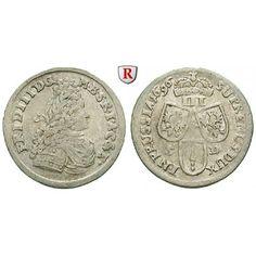 Brandenburg-Preussen, Kurfürstentum Brandenburg, Friedrich III., 3 Gröscher 1696, ss: Friedrich III. 1688-1701. 3 Gröscher 1696… #coins