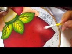 Pintura en tela niña fresa # 4 con cony