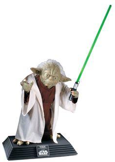 Estatua Star Wars. Yoda. Tamaño real. 66 cms.