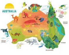 Major Cities In Australia Map.A Map Of Australia Clearly Illustrating The States And Territories