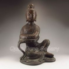 Asian Antiques - China - Statues - Kwan-yin Category List of Antiques, With Information and Images (Page Guanyin, Antique China, Porcelain, Chinese, Bronze, Asian, Sculpture, Statue, Antiques