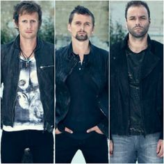 Photoset of Muse growing up. THE FEELS.