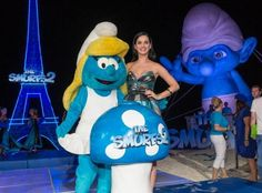 smurfs 2 summer of sony 5 photocall cancun mexico photos | Perry attend 'The Smurfs 2' party at The 5th Annual Summer Of Sony ...