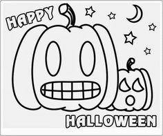 """Álbum """"Halloween Colouring"""", de Esperanza Moreno, con más de cien imágenes educativas relacionadas con el tema, en la dirección que indica el enlace de la imagen."""