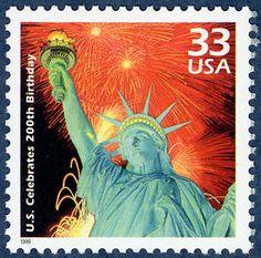 Lady Liberty - Scott 3189f