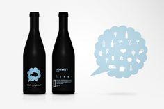 No me toques las Helvéticas | Blog sobre diseño gráfico y comunicación: Botellas de vino con pictogramas