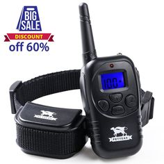 PetYeah Dog Training Collar Shock/Vibration/Beep 330Yds 100 Adjustable Levels Rechargeable and Rainproof All Size Dogs Bark Collar Dog is the best friend, the most loyal partner and a close family member of the human Read  more http://dogpoundspot.com/dog-luxury-store-2661/  Visit http://dogpoundspot.com for more dog review products