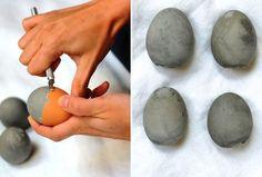 vajíčka ze sádry