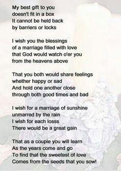 Pin By Anne Mangan On Weddings Wedding Poems Wedding Bridal Shower