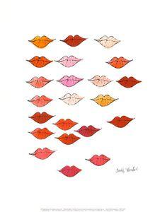 """Andy Warhol """"Lips"""""""