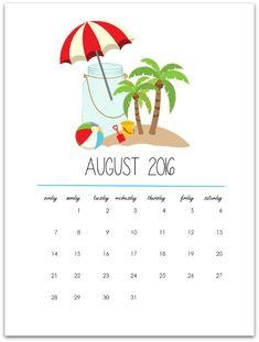 Mason Jar Calendar P