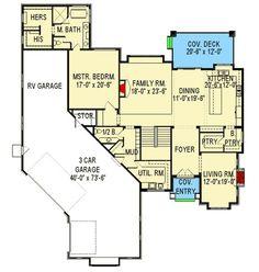 Rv Garage Home Floorplan We Love It Floorplans Rv
