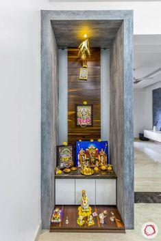 pooja rooms mandir simple niche living unique decoration door want location partition finish unit latest compact niches livspace