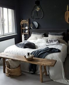 40 Masculine And Modern Man Bedroom Design Ideas is part of Men's bedroom design - It is a preconceived notion, that if you are a man, in your bedroom, your mattress is on the floor, […] Room Design, Home Decor Bedroom, Home Bedroom, Home Decor, House Interior, Bedroom Inspirations, Mens Bedroom, Modern Bedroom, Small Bedroom