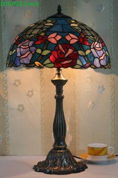 Rose Tiffany Lamp 16S0-267T305