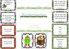 Miss Thrifty SLP: Lucky Leprechauns! March is finally here :) with freebie