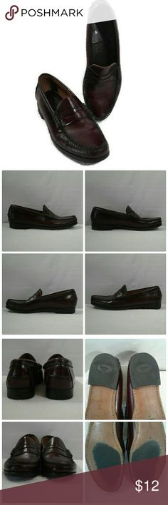 70a18b85738a1 Dexter Burgundy Penny Loafers Good pre owned condition Stamped Second Only  flaw I see is on