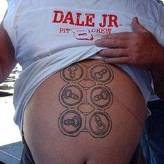 "FAIL~ WHEN HIS WIFE SAID ""I WISH YOU HAD A SIX PACK HONEY"", I DO NOT THINK THIS IS WHAT SHE HAD IN MIND!!!"