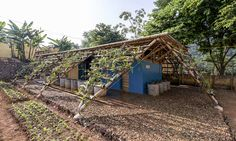 H&P Architects unveiled Toigetation 2, a sustainable restroom facility built for the Ta Ma primary school in Vietnam.