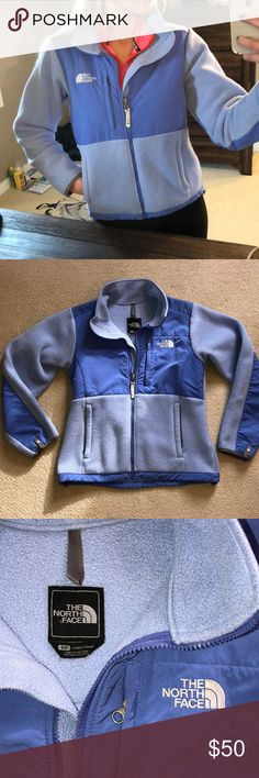 The North Face Fleece The North Face fleece zip up jacket. Great condition! Very cozy and warm material. No stains or rips. The North Face Jackets & Coats