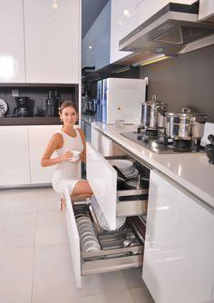 phụ kiện tủ bếp inox cao cấp