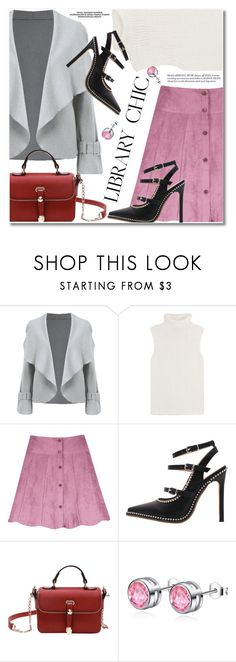 """""""Study Session: Library Chic"""" by fshionme ❤ liked on Polyvore featuring Theory and librarychic"""
