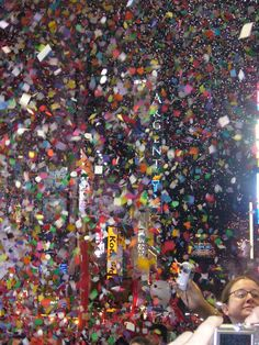 Times Square, New Years Eve