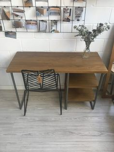 Escritorio Cosmopolitan - Muebles rústicos a medida Office Desk, Dining Table, Furniture, Home Decor, Wood Benches, Custom Furniture, Rustic Furniture, Wooden Desk, Desks