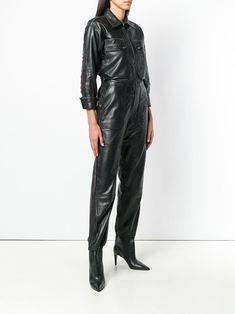 066463c5a8a1 Zadig Voltaire Fashion Show Front Button Jumpsuit - Farfetch