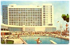FLORIDA Miami Beach - Deauville Hotel - 1950s