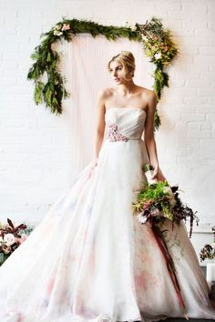 With dreamy captures from Adeline & Grace , today's industrial styled soiree is sure to leave you feeling absolutely inspired. Boho Chic Wedding Dress, Classic Wedding Dress, Wedding Dress Trends, Wedding Dress Sleeves, Handmade Wedding Favours, Copper Blush, Watercolor Wedding, Bridal Style, Wedding Photos