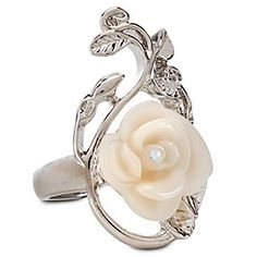 Rose Snow White Ring