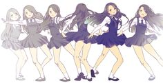 Kpop Girl Groups, Korean Girl Groups, Kpop Girls, Sinb Gfriend, Exo Fan Art, Best Kpop, Korean Art, G Friend, Daughters