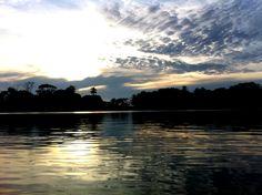 Sun rise. Costa Rica.