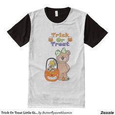Trick Or Treat Little Girly Bear
