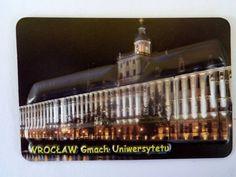 Pamiątkowy Magnes 3D Wrocław Gmach Uniwersytetu   Pamiątkowe Magnesy   Upominki24.com