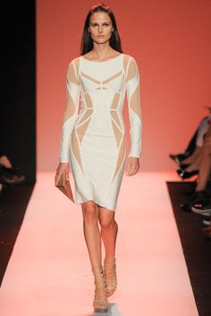 Hervé Léger by Max Azria Spring 2015 Ready-to-Wear
