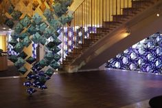 Sublime ephemeral space created by Wanda Barcelona for Stockholm's Hilton hotel in trendy Sodermalm. All made out of paper, of course!